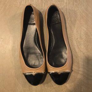Tory Burch cap toe flats